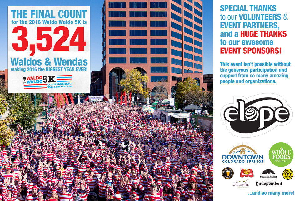 The Waldo Waldo 5K – A family friendly walk & fun run